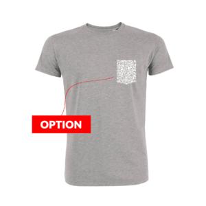Wazashirt-new-t-shirt-pocket-heather-grey-printed-pocket
